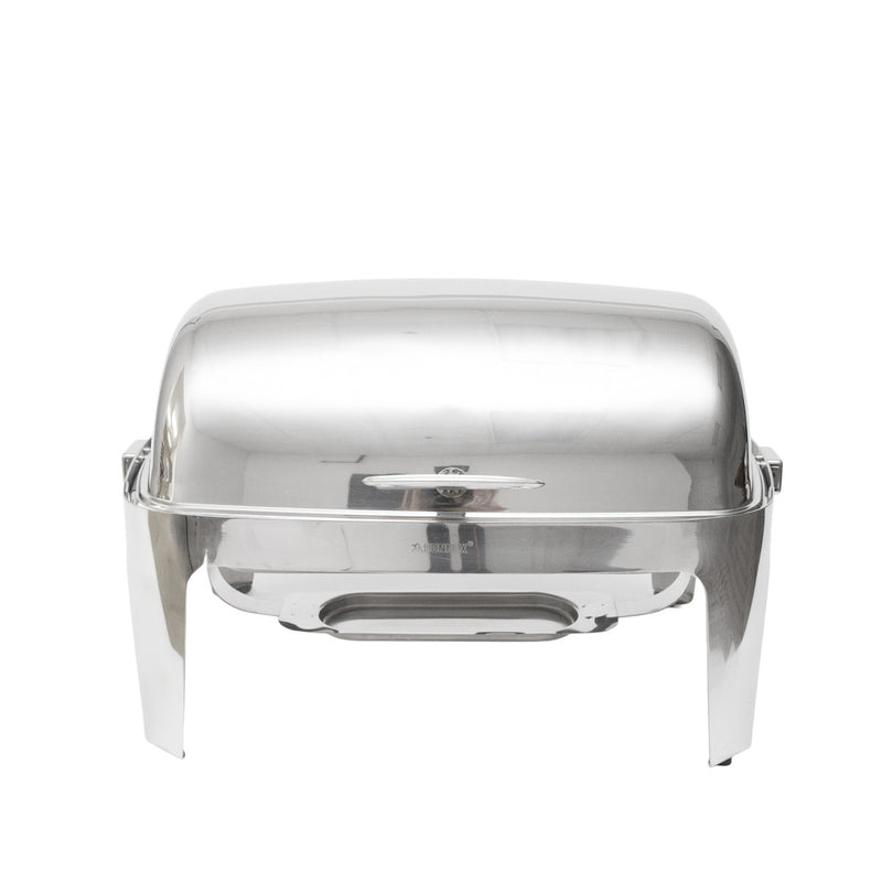 Stainless Rolltop 8 qt. Rectangle Chafer