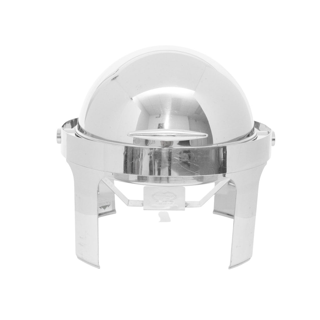 Stainless Rolltop 8 qt. Round Chafer