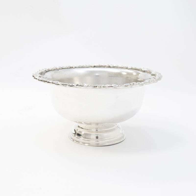 Silver Punch Bowl (5 Gallon)