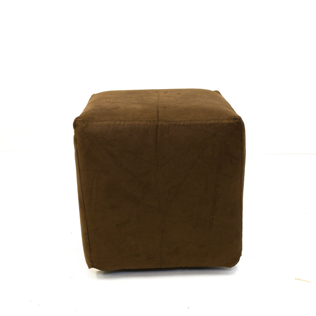 Chocolate Suede Axis Cube