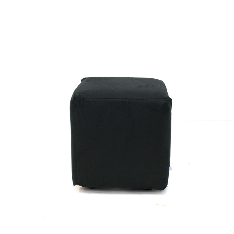 Black Suede Axis Cube