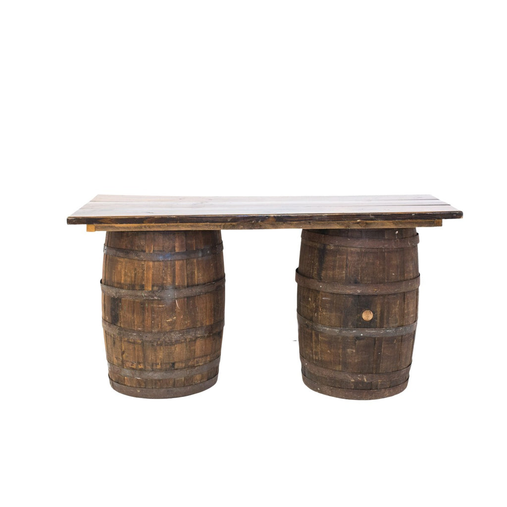 6 ft. Whiskey Barrel Table