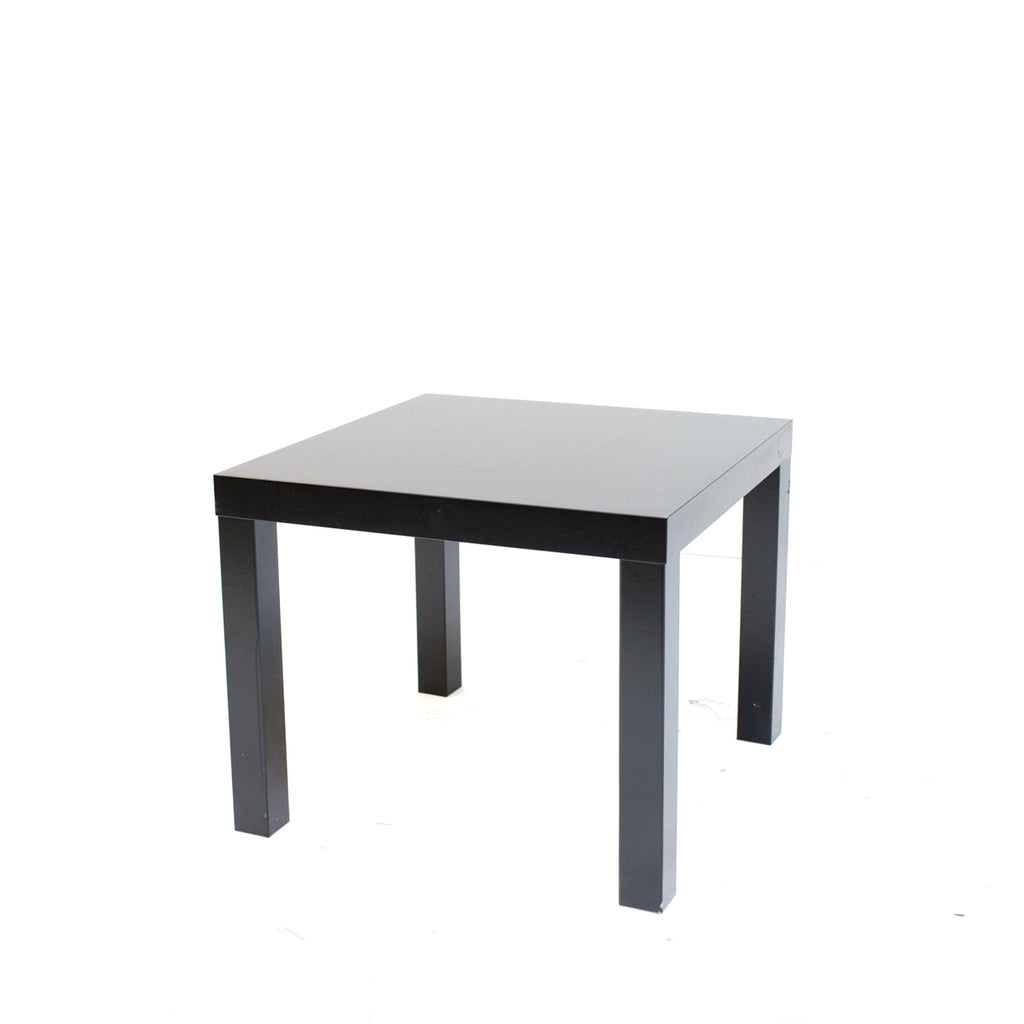 Black Axis End Table
