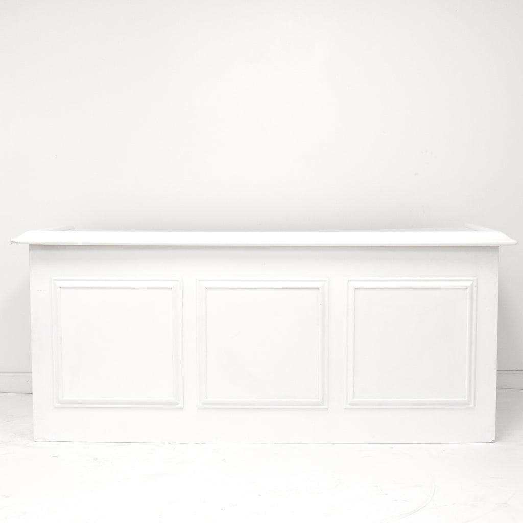 White Craftsman Bar