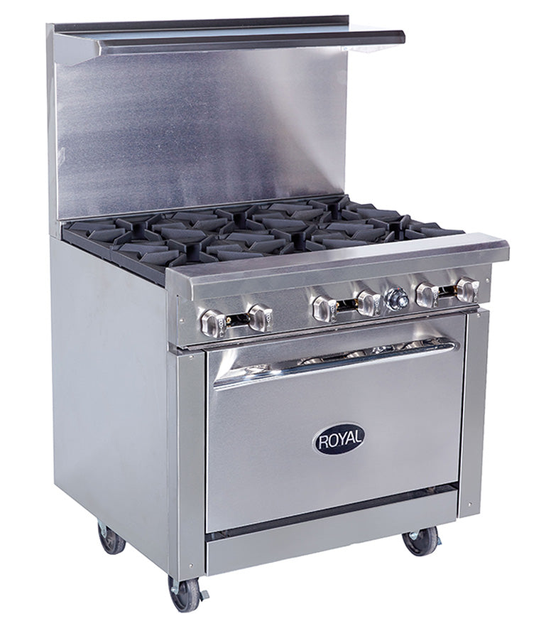 6-Burner Stove/Oven Combo (On Wheels)