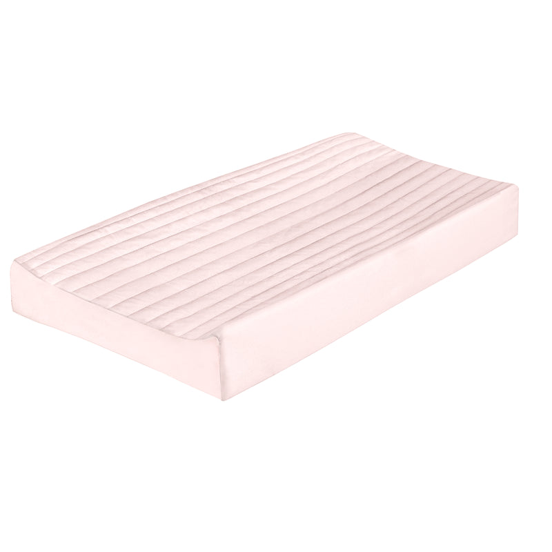 Organic Cotton Changing Pad Cover - Peony Blush - Clearance