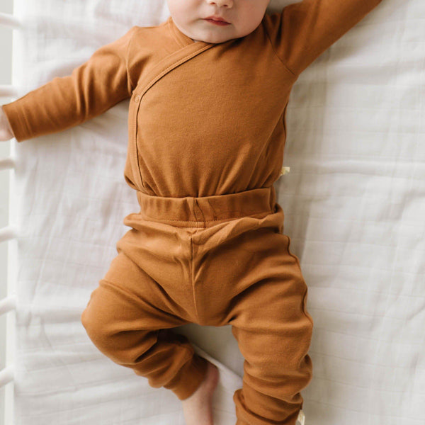 Organic Cotton Harem Pants - Aubrey Ginger-Makemake Organics