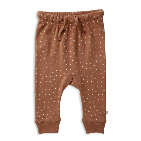 Organic Cotton Harem Pants - Aubrey Ginger Fleck