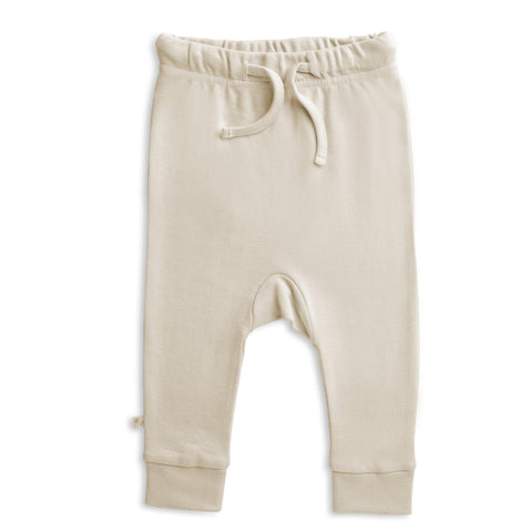 Organic Cotton Harem Pants - Eli Oat