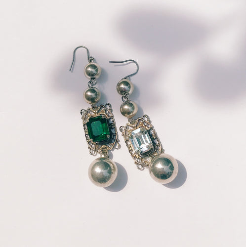 Vintage long earrings