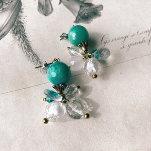 Gelato earrings -menthe-