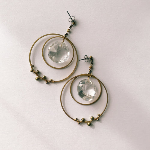 Chandelier earrings -foop-