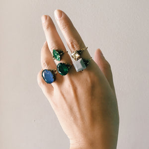 Cabochon ring -June-