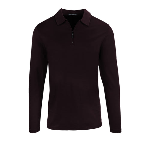 BARAKETT T ZIP POLO