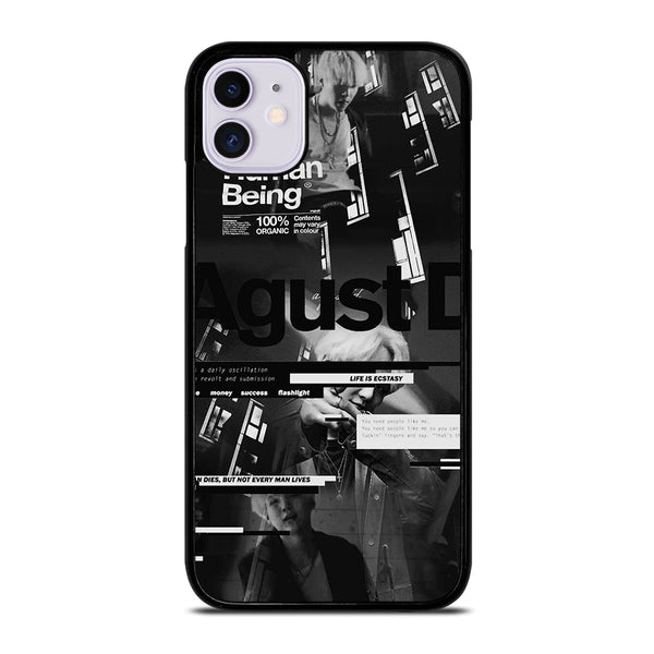 AGUST D BTS NEW ALBUM iPhone 11 Case