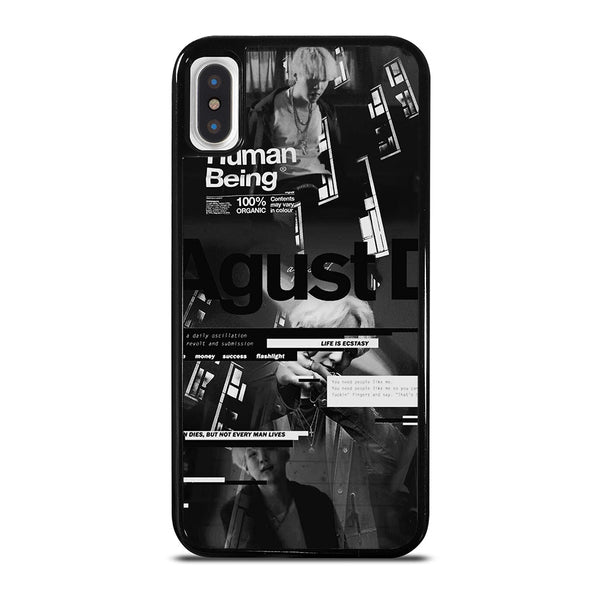 AGUST D BTS NEW ALBUM iPhone X / XS Case