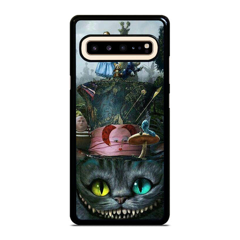 ALICE IN WONDERLAND CAT TOGETHER Samsung Galaxy S10 5G Case