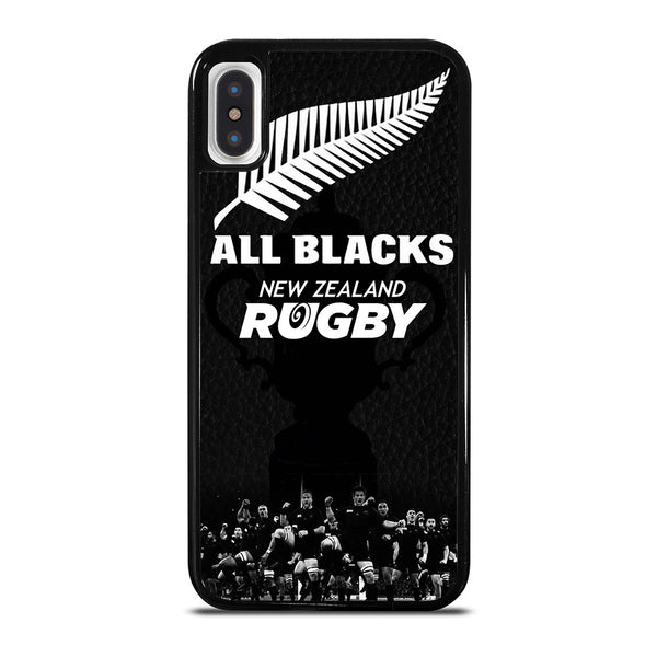 ALL BLACKS NEW ZEALAND RUGBY #6 iPhone X / XS Case