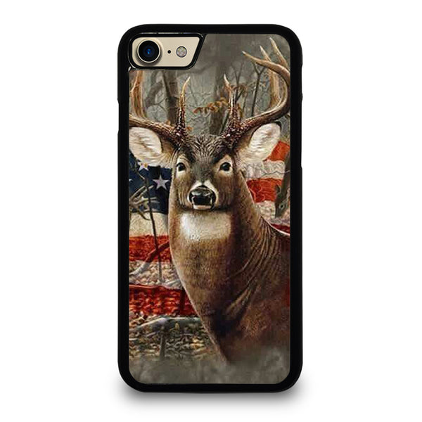 AMERICAN FLAG DEER BUCK CAMO iPhone 7 / 8 Case