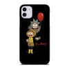 ANIMATION RICK AND MORTY iPhone 11 Case