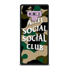 ANTI SOCIAL SOCIAL CLUB CAMO Samsung Galaxy Note 9 Case