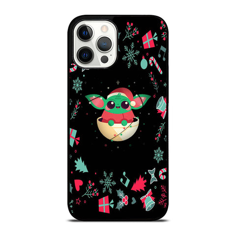 BABY YODA CHRISTMAS iPhone 12 Pro Max Case