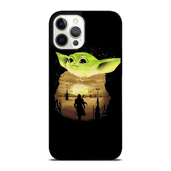 BABY YODA SUNSET iPhone 12 Pro Max Case