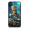 BABY GROOT DEATH BUTTON iPhone XS Max Case