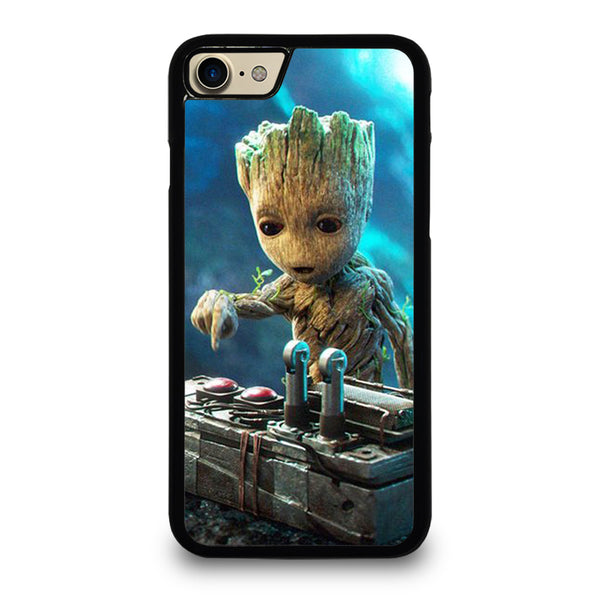 BABY GROOT DEATH BUTTON iPhone 7 / 8 Case