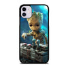 BABY GROOT DEATH BUTTON iPhone 11 Case