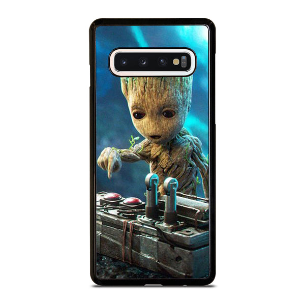 BABY GROOT DEATH BUTTON Samsung Galaxy S10 Case