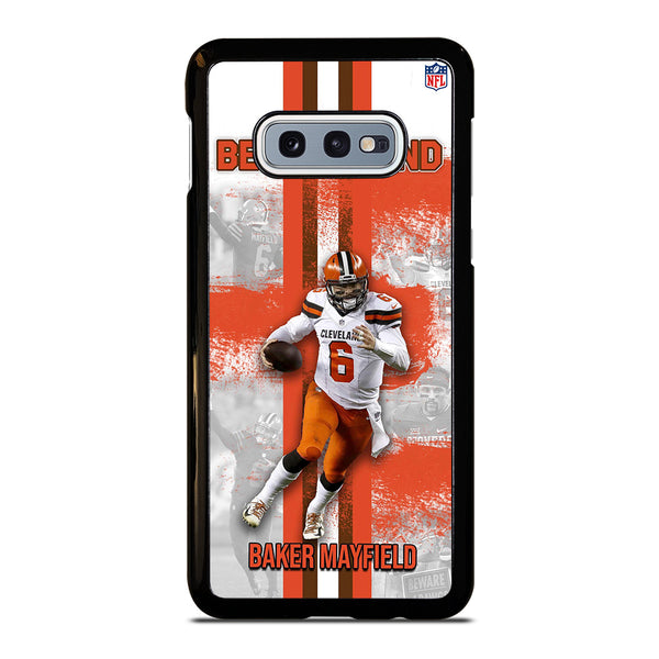 BAKER MAYFIELD CLEVELAND BROWNS Samsung Galaxy S10 e Case