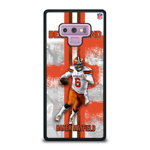 BAKER MAYFIELD CLEVELAND BROWNS Samsung Galaxy Note 9 Case