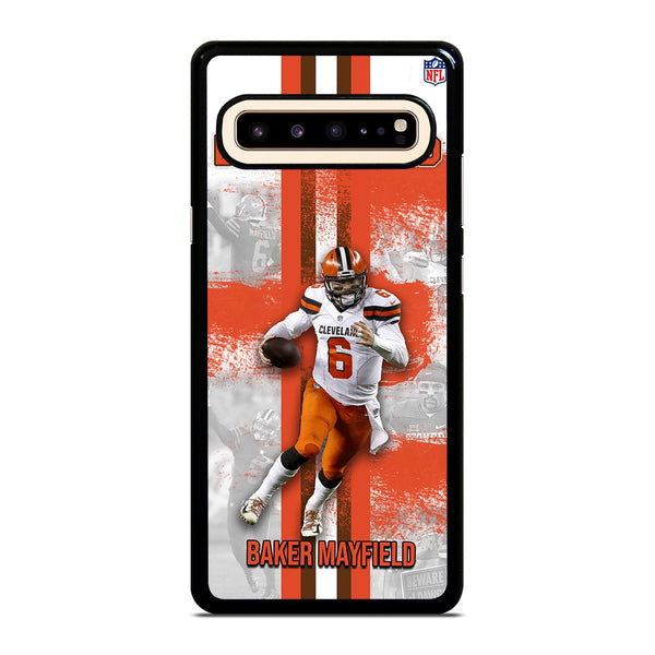 BAKER MAYFIELD CLEVELAND BROWNS Samsung Galaxy S10 5G Case