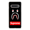 BAPE SHARK BLACK Samsung Galaxy S10 Case