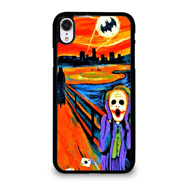 BATMAN JOKER SCREAM iPhone XR Case