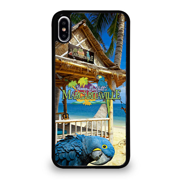 BEACH JIMMY BUFFETS MARGARITAVILLE #2 iPhone XS Max Case