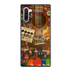 BEATLES GUITAR COLLAGE Samsung Galaxy Note 10 Case