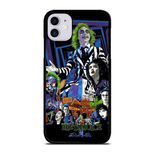 BEETLEJUICE MOVIE TIM BURTON #1 iPhone 11 Case