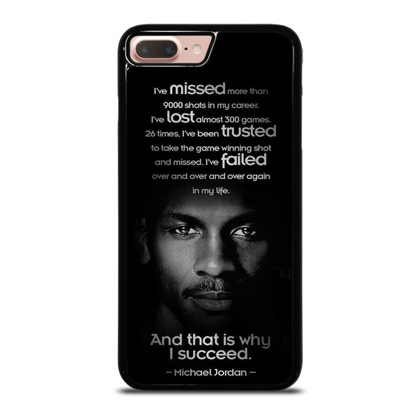 BEST MICHAEL JORDAN QUOTE iPhone 7 / 8 Plus Case