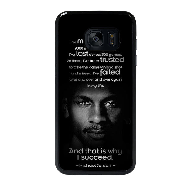 BEST MICHAEL JORDAN QUOTE Samsung galaxy s7 edge Case