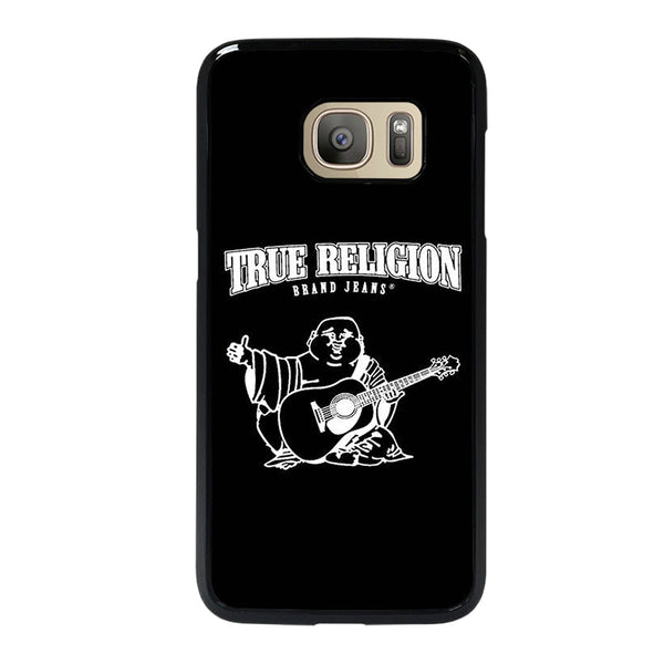 BIG BUDDHA TRUE RELIGION BLACK Samsung Galaxy S7 Case