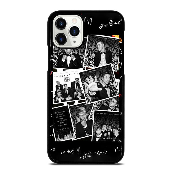 BLACK WHITE WHY DON'T WE iPhone 11 Pro Case