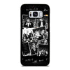 BLACK WHITE WHY DON'T WE Samsung Galaxy S8 Case