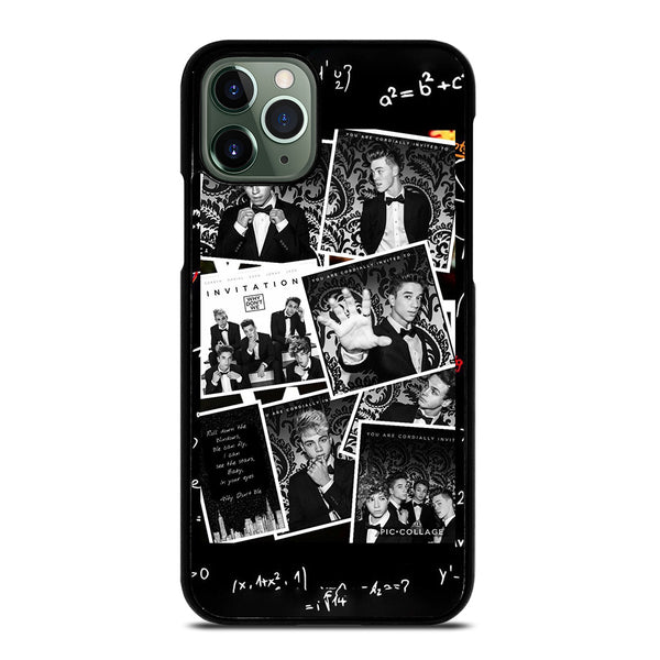 BLACK WHITE WHY DON'T WE iPhone 11 Pro Max Case