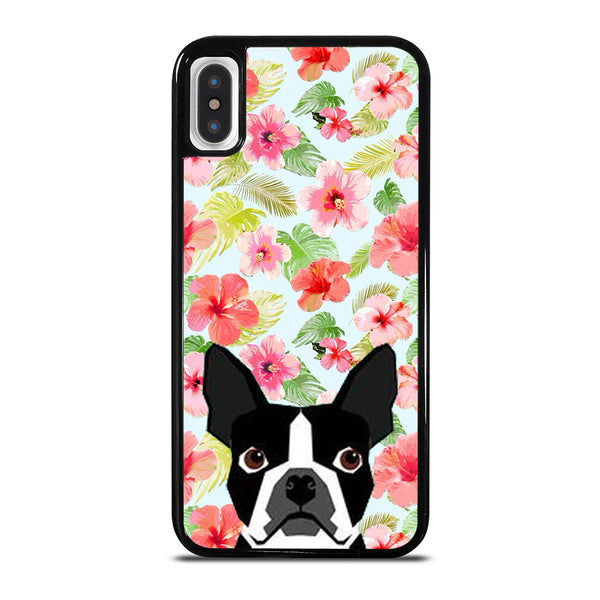 BOSTON TERRIER DOG BREED #1 iPhone X / XS Case