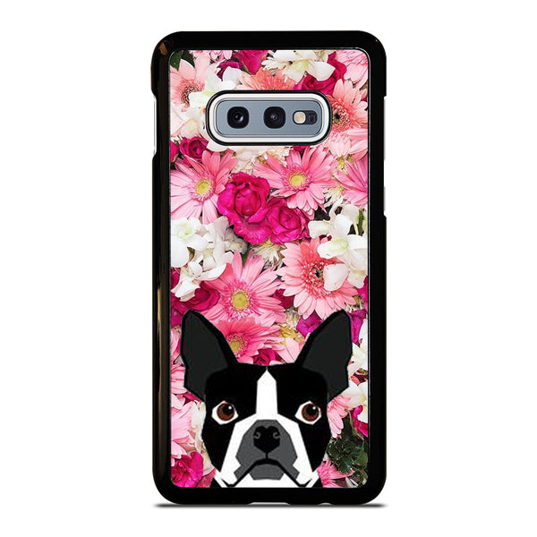 BOSTON TERRIER DOG BREED Samsung Galaxy S10 e Case
