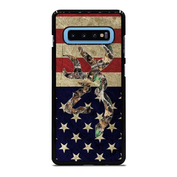 BROWNING DEER CAMO Samsung Galaxy S10 Plus Case