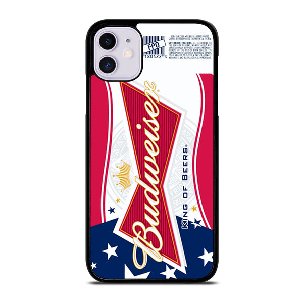 BUDWEISER AMERICAN FLAG LOGO iPhone 11 Case
