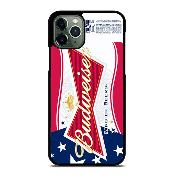 BUDWEISER AMERICAN FLAG LOGO iPhone 11 Pro Max Case